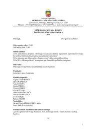 Sēdes protokols Nr.5 (21.02.2011) - Mērsraga pagasta padome