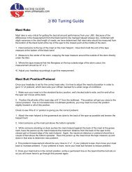 J80 Tuning Guide - Ullman Sails