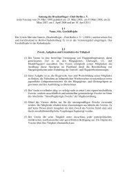 1 Satzung des Drachenflieger -Club Berlin e. V. in der Fassung vom ...