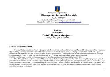 Pašvērtējuma ziņojums *pdf - Mērsraga pagasta padome