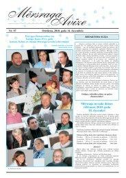 Decembra numurs - Mērsraga pagasta padome