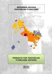 Pārskats par teritorijas plānojuma izstrādi - Mērsraga pagasta padome