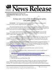 Draft Press Release - City of Fife