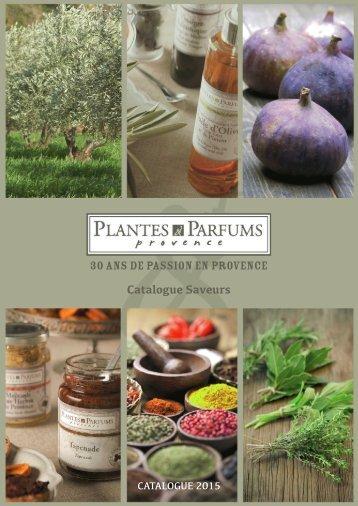 Catalogo Plantes & Parfumes Saveurs