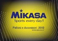 Catalogo Palloni e Accessori - Mikasa