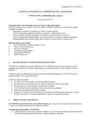 CONOXIA 100%, medicīniska gāze, (2011)