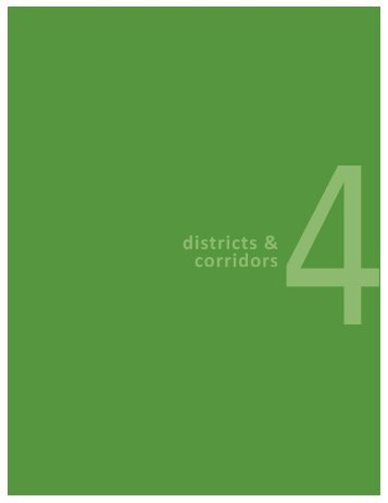 Districts and Corridors - City of Milwaukee
