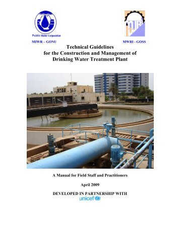Water Treatment Plants - Basic Services Fund SOUTH SUDAN
