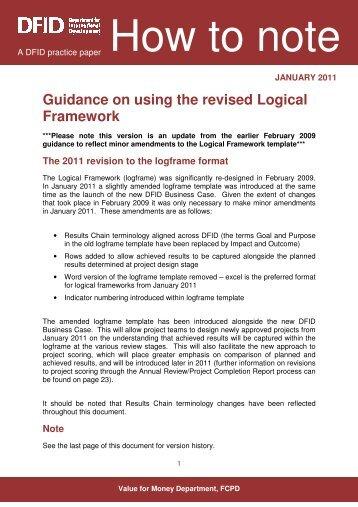 using-revised-logical-framework-external