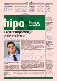 latviešu valodā - Hipotēku banka