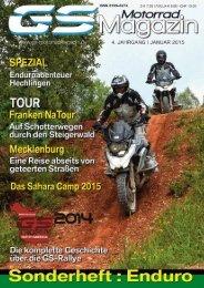 GS MotorradMagazin Sonderheft ENDURO 2015