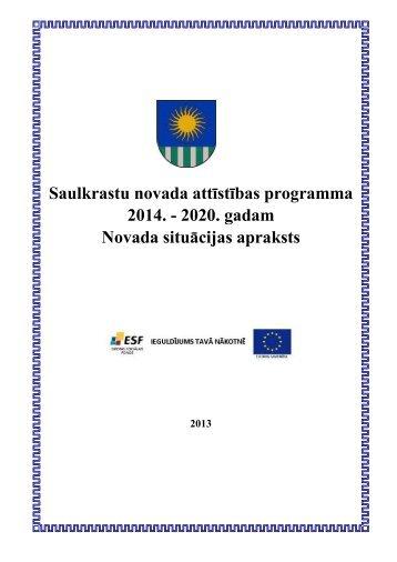 Attīstības programmas 2014-2020 apraksta daļa.pdf - Saulkrasti