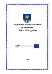 Saulkrastu novada attīstības programma 2014. – 2020 ... - Saulkrasti