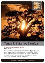 Tanzania Safari og Zanzibar