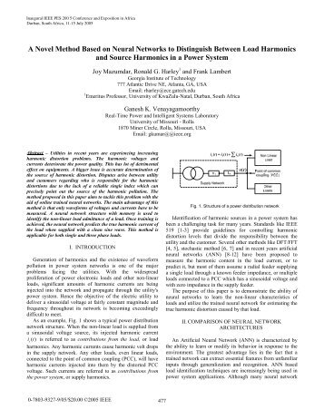 A Novel Method Based on Neural Networks to ... - IEEE Xplore
