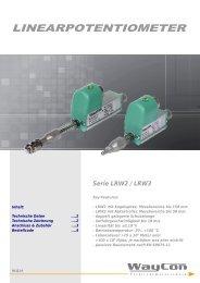 LINEARPOTENTIOMETER LRW2/LRW3