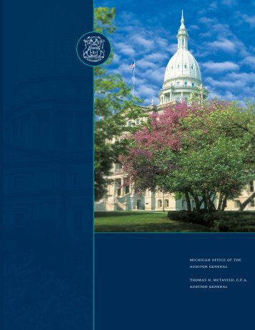 recruiting brochure - Office of the Auditor General - State of Michigan