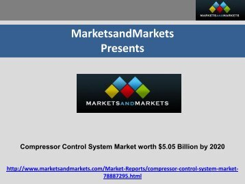 Compressor Control System Market