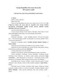 Tiesas sēdes stenogramma - Satversmes tiesa