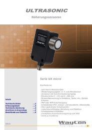 ULTRASONIC UXMICRO500
