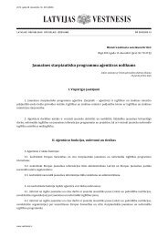nolikums - Jaunatnes starptautisko programmu aģentūra