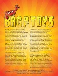 Bag of Toys Electronic Press Kit Download