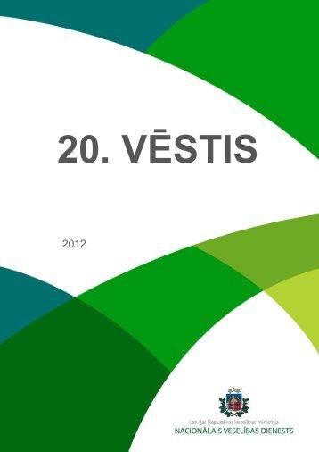 VESTIS 2012 - Nacionālais veselības dienests