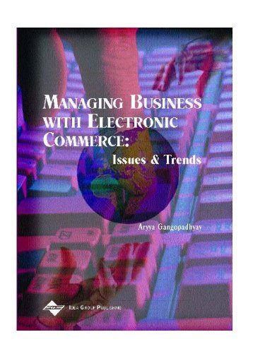 Managing Business with Electronic Commerce -  Imaginar