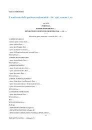 Il rendiconto della gestione condominiale - Art. 1130, comma 2, c.c.