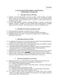 LKĪA stipendijas nolikums - Latvijas Jūras akadēmija