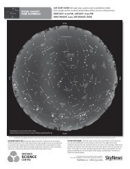 Star Chart - Ontario Science Centre