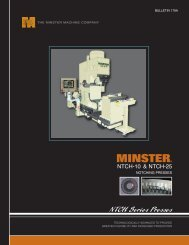 to Download - The Minster Machine Company