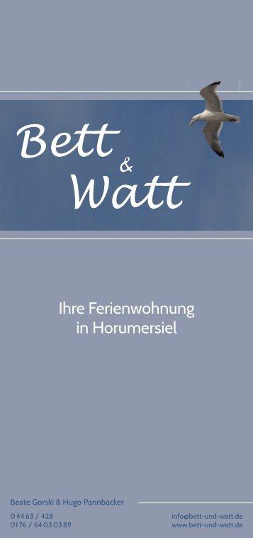 Bett Watt - spektrum nord
