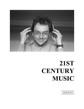 Carlos Sanchez-Gutierrez Interview - 21st Century Music