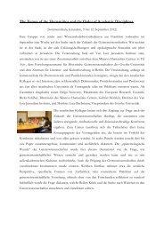 Bericht - Forschungszentrum für historische Geisteswissenschaften