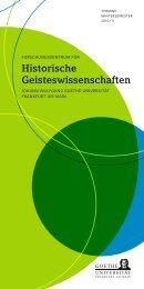 Programm WS 2010/2011 (als PDF) - Forschungszentrum für ...