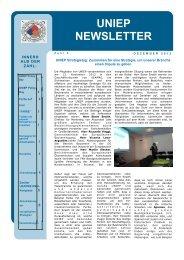 Newsletter of December 2012 - Uniep.com