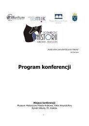 DH - Program Konferencji - Wiedza i Edukacja