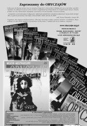 Zapraszamy do OBYCZAJÓW - Biblioteka Multimedialna Teatrnn.pl