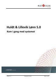 Huldt & Lillevik Lønn 5.0