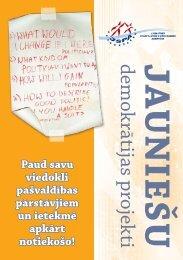 Jauniešu demokrātijas projekti - Jaunatnes starptautisko programmu ...