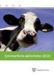 Sommerferie-aktiviteter 2010 - Haderslev Bibliotek