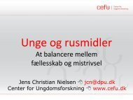 Download Jens Christian Nielsens slides fra konferencen her
