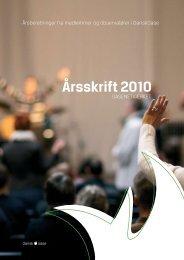 Årsskrift 2010 - DanskOase.dk