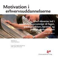 Motivation i erhvervsuddanelserne - Center for Ungdomsforskning