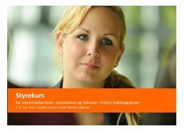 2013 06 Styrekurs Trøndelag Justert 2.5