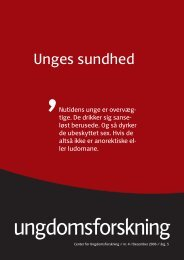Hent december nummeret som pdf - Center for Ungdomsforskning