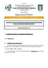 """campionato regionale juniores """"a1"""" - LND"""