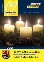 Dezember 2009 (1,25 MB) - Gemeinde St. Ulrich im Mühlkreis