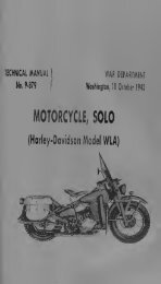 Technical Manual TM 9-879 Harley Davidson WLA
